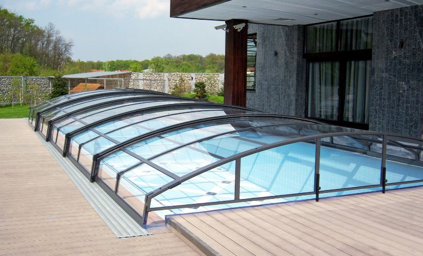 پروفیل آلومینیوم سقف متحرک