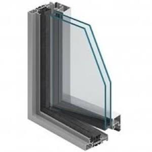 پروفیل آلومینیوم پنجره لولایی سری 59